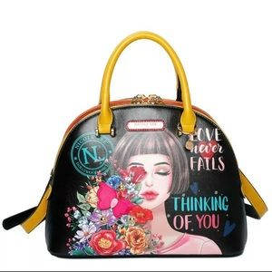 Nicole Lee Thinking of You Dome Bag